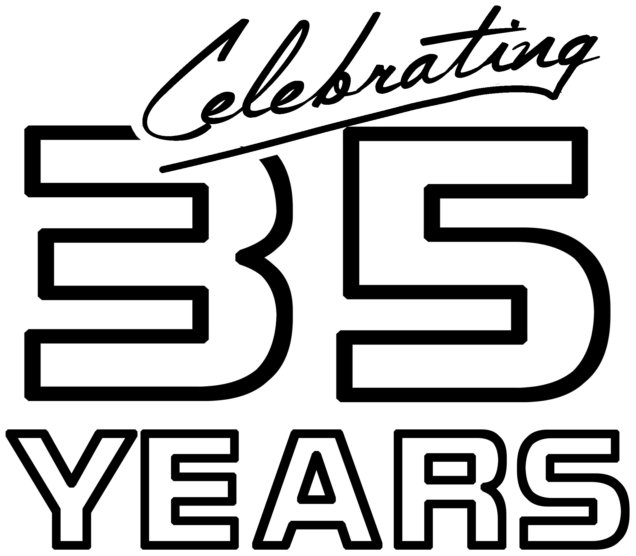 Celebrating 35 Years of Forklift Parts Badge