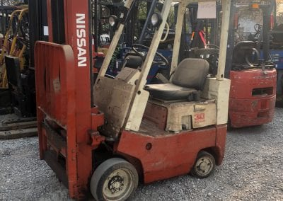 Nissan Lift Truck sold by Lift Truck Inc. Owner in 1984.