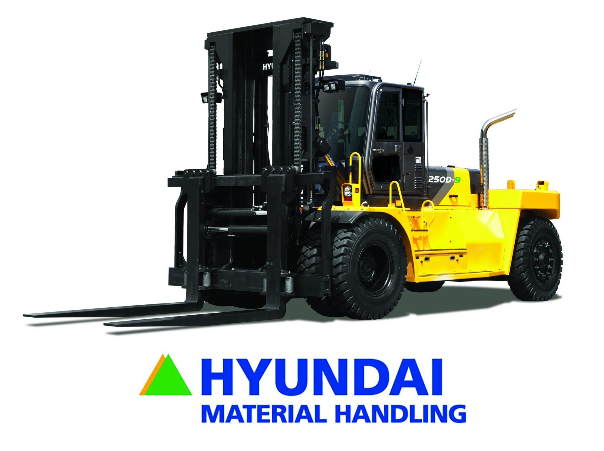 New Hyundai Forklifts