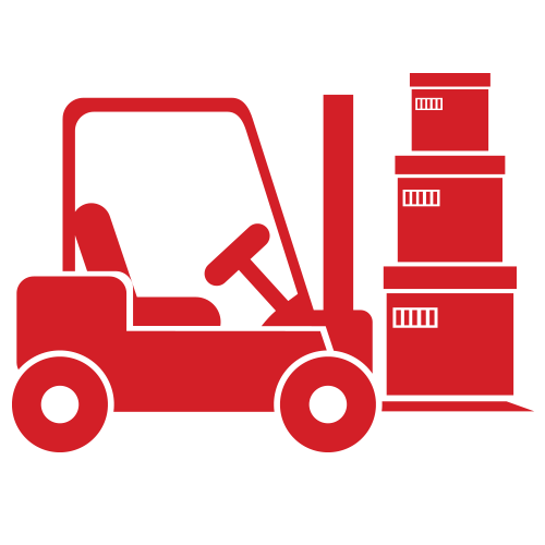 forklift rentals icon – forklift repair icon