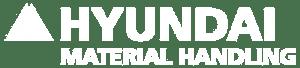 Hyundai Forklift Logo in White